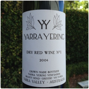 Yarra Yering. Dry Red No.1