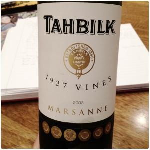 Tahbilk 1927 Vines Marsanne 1