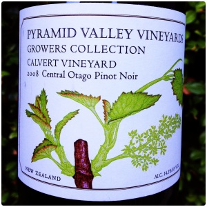Pyramid Valley Calvert Vineyard Pinot Noir 1