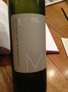 "Marq ""Wild & Worked"" Sauvignon Blanc Semillon 1"