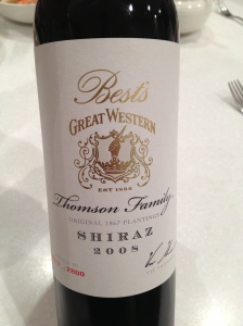 Best's Thomson Family Shiraz