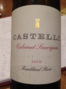 2010 Castelli Cabernet Sauvignon