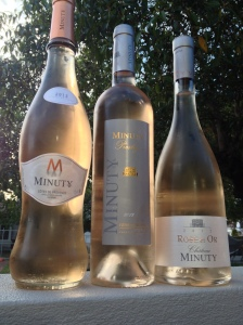 Rosé wines of Chateau Minuty
