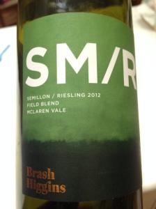 "Brash Higgins ""SM/R"" Semillon Riesling"