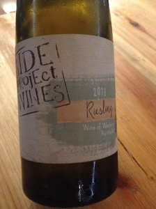 Side Project Riesling