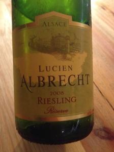 Lucien Albrecht Riesling