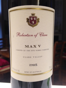 """Robertson of Clare """"Max V"""" 1"""