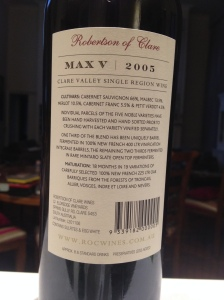 """Robertson of Clare """"Max V"""" 2"""