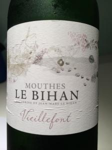 """Domaine Mouthes Le Bihan """"Vieillefont"""" Blanc 1"""