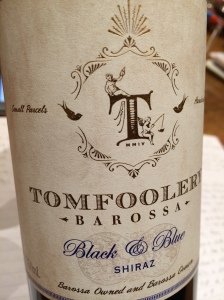 "Tomfoolery ""Black & Blue"" Shiraz"