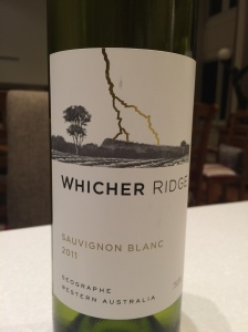Whicher Ridge Sauvignon Blanc