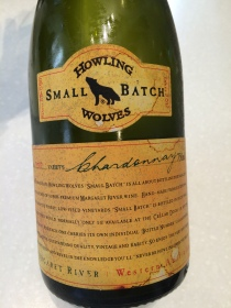 Howling Wolves Small Batch Chardonnay, Batch 90 1