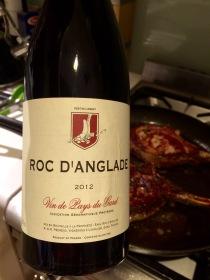 2012 Roc d'Anglade Rouge. Languedoc