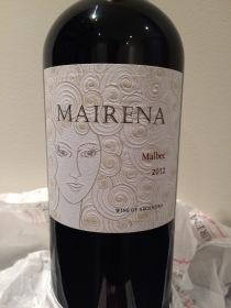 Mairena Malbec 2